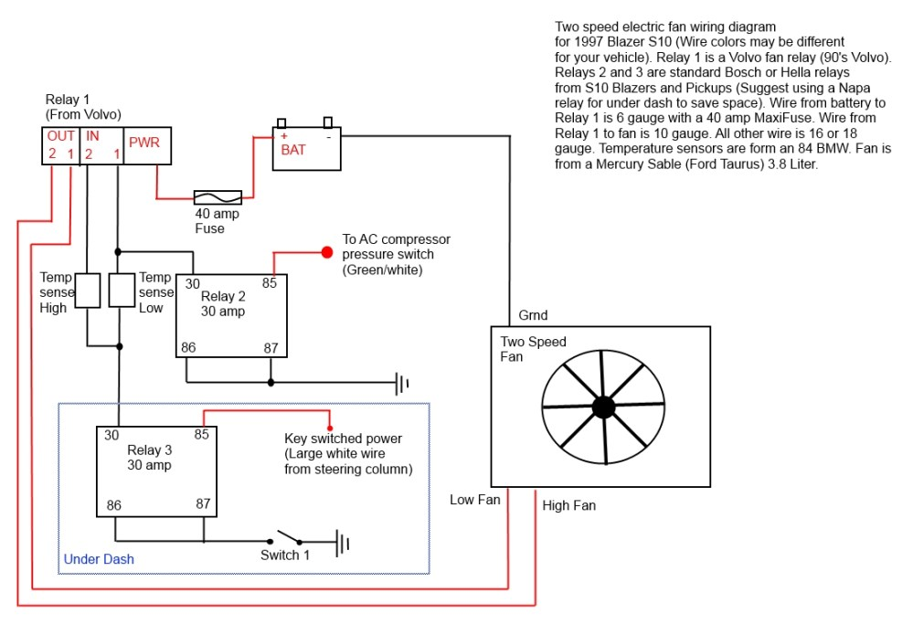 medium resolution of electric fan my e fan wiring jpg the volvo relay