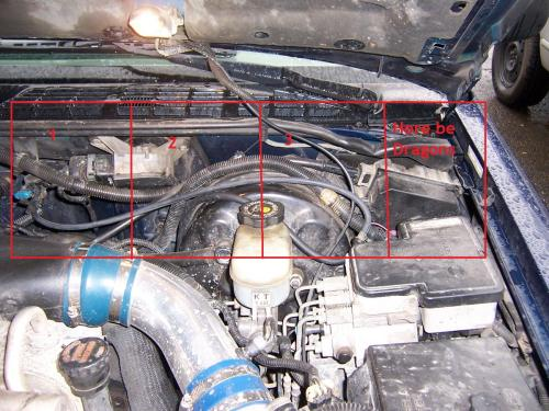 small resolution of 2000 blazer 4 3 engine wiring drivers side wires jpg