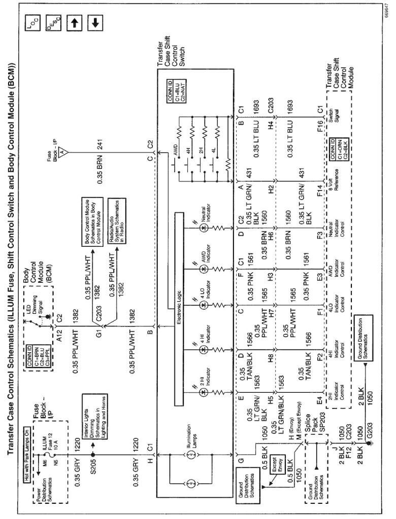 2000 chevy blazer 4x4 wiring diagram