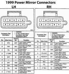 blazer forum chevy blazer how many wires on a power heated mirror for a 1999 chevy power mirror wiring diagram  [ 1411 x 1435 Pixel ]