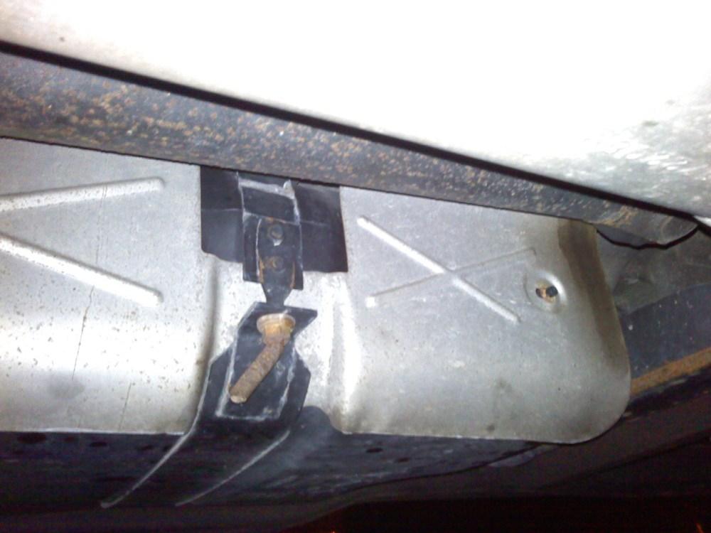medium resolution of bent gas tank strap bolt 1022090102b jpg