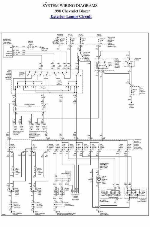 small resolution of 1998 blazer wiring diagram wiring diagram expert 98 chevy blazer spark plug wiring diagram 98 blazer wiring diagram