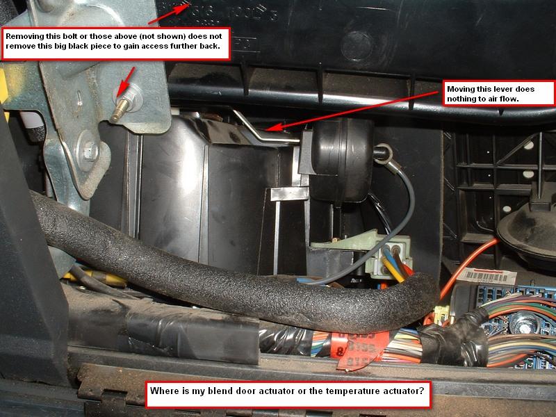 1996 Kia Sephia Engine Diagram Vacuum Confused Blend Door Actuator Or Temperature Actuator