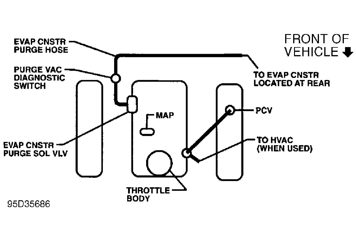 Chevy 43 Vacuum Diagram