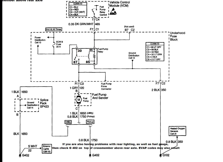 fuel pump relay wiring diagram banshee lights chevy 1997 data schema not getting power blazer forum forums tail light