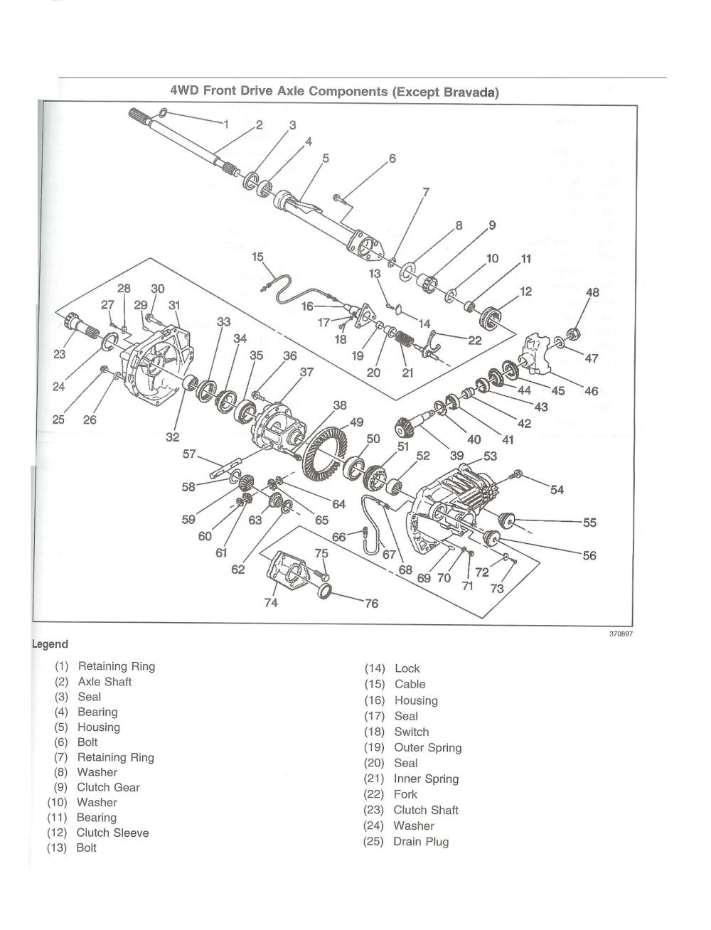 medium resolution of 2003 chevy blazer front axle diagram page 8 wiring diagram for you 2004 chevy s10 axle diagram