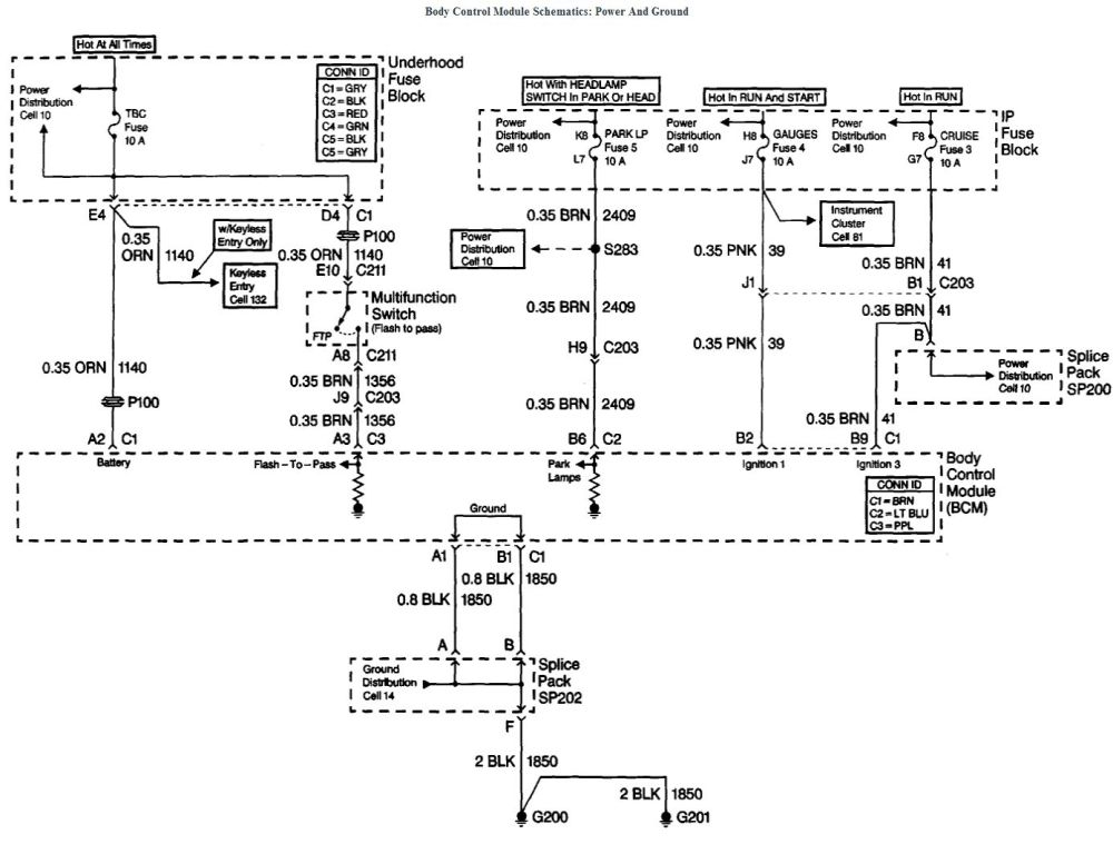 medium resolution of 1999 chevy tahoe body control module diagram wiring diagram for you 1999 chevy tahoe body control module diagram