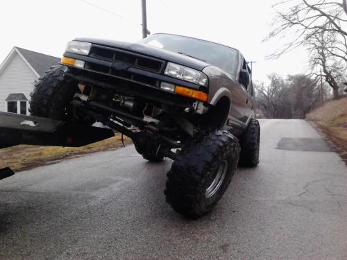 small resolution of 01 s10 blazer lift kit