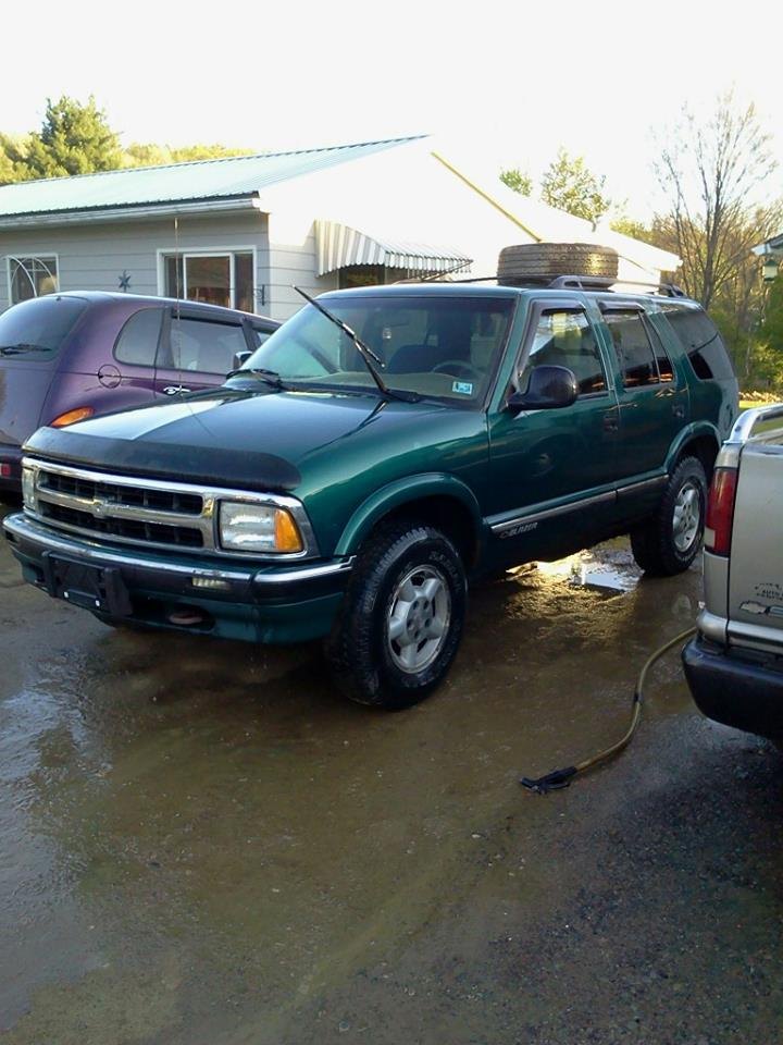 96 Chevy Blazer Starter Wiring