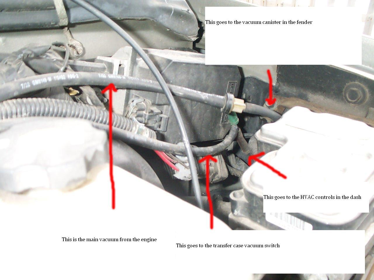 2001 Dodge Ram 1500 4x4 Vacuum Line Diagram