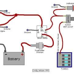 How To Wire A Relay Diagram Compu Fire Ignition Wiring High Beams Blazer Forum Chevy Forums Foglite Jpg