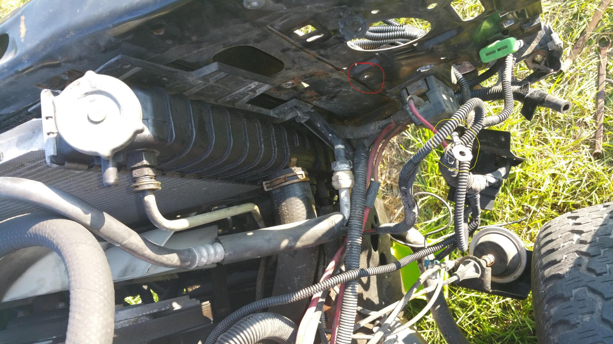 hight resolution of where to connect ground wires 99 chevy blazer pic included yesyesyes
