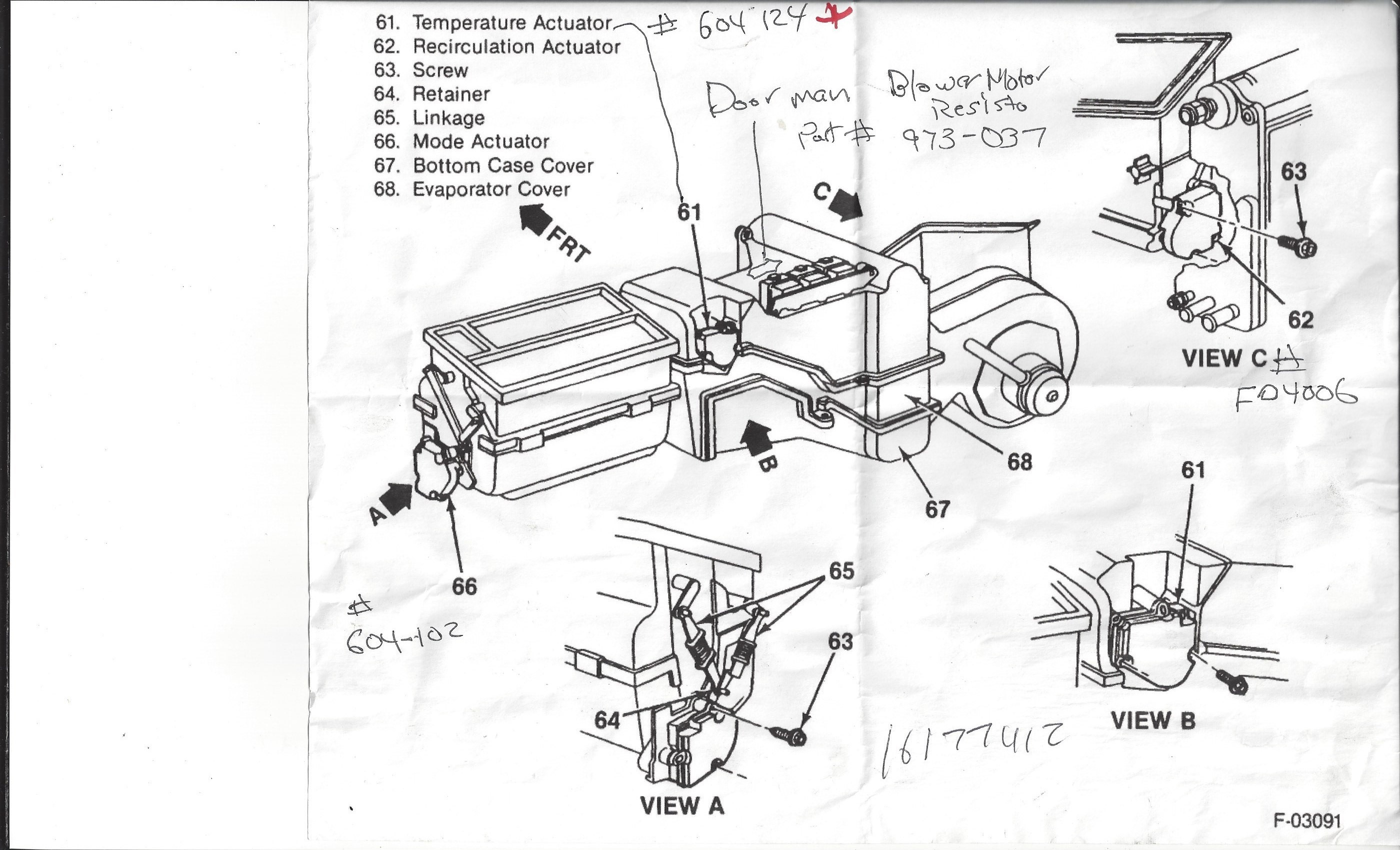 1994 GMC SIERRA STARTER WIRING DIAGRAM - Auto Electrical ...