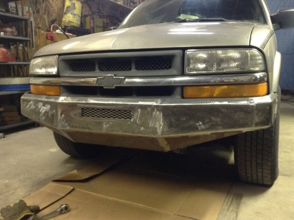 Custom S10 Bumper Plans - Year of Clean Water