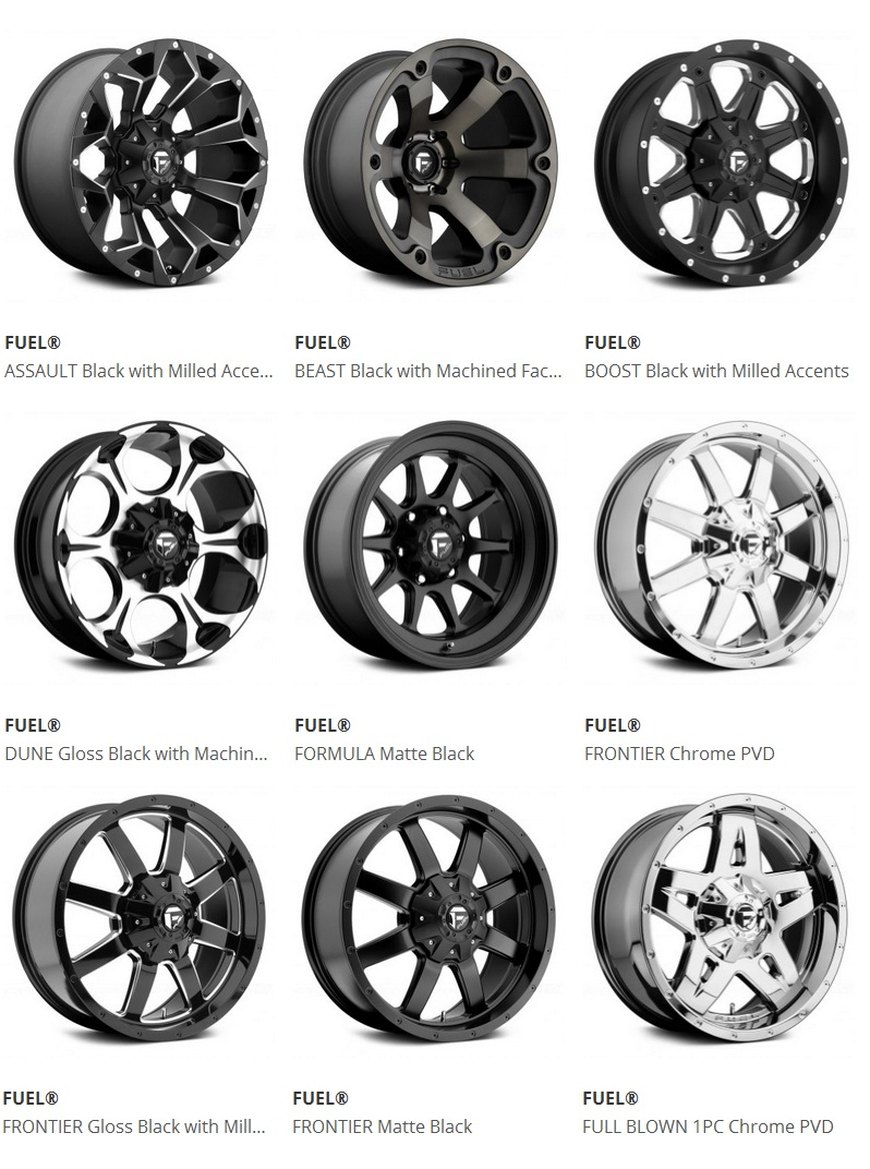 Aftermarket wheels and tires for your Blazer at CARiD
