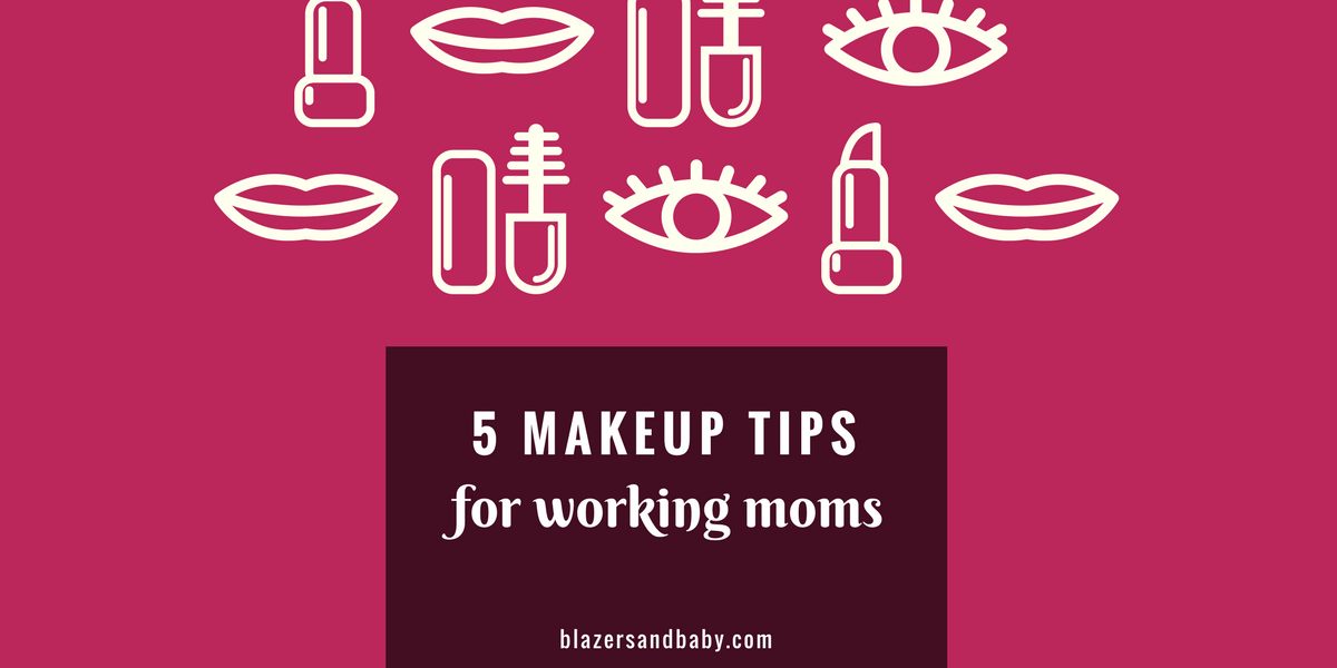 No Sleep? No Problem: 5-Minute Makeup Tips For Working Moms