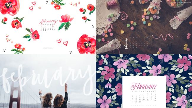 February 2017 Calendar Wallpaper Blazers And Blue Jeans