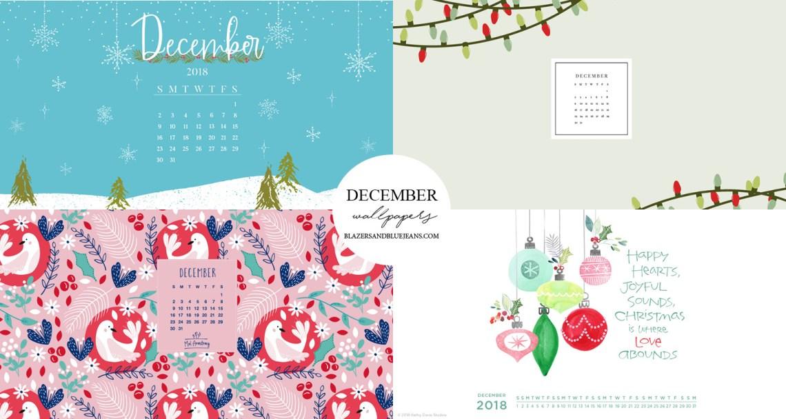 december 2018 wallpaper