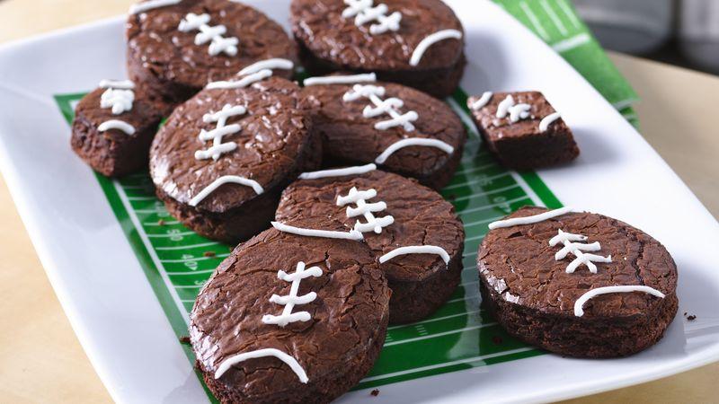 superbowl brownies