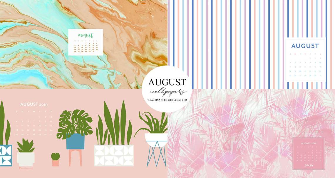 August 2019 Free Wallpapers Blazers And Blue Jeans