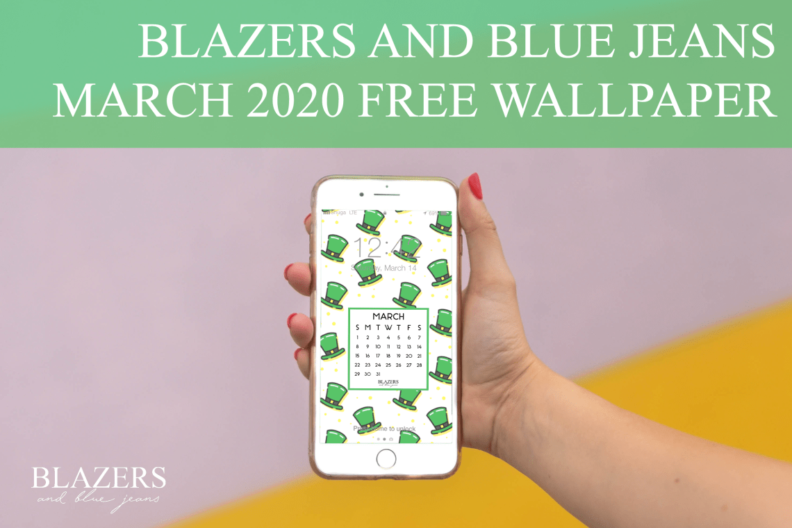 Free St Patrick S Day Wallpaper Blazers And Blue Jeans