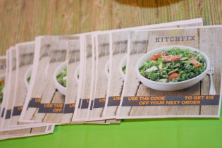 Food catered by KitchFix, a, organic Paleo fresh meal delivery service