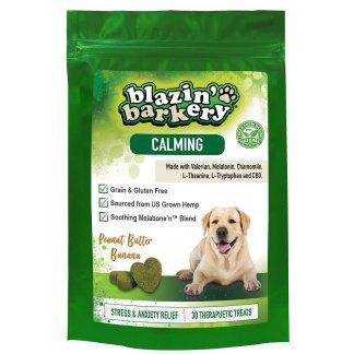 Blazin' Barkery Calming Hemp CBD Dog Treats