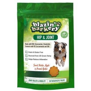 Blazin' Barkery Joint & Hip CBD Hemp Mobility Dog Treats