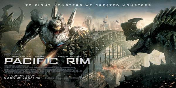 Pacific Rim Kaiju Poster