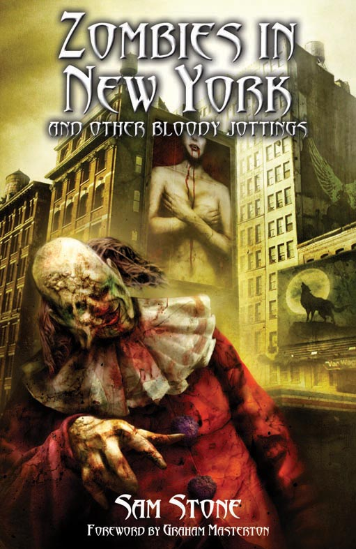 Zombies in New York Cover (Sam Stone)