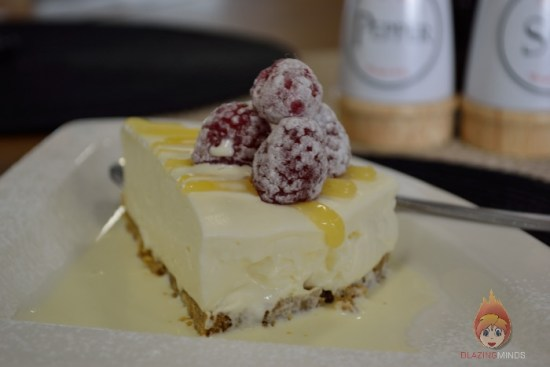 Chocks Away - The king of cheesecakes