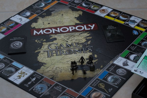 Game of Thrones Monopoly (Board Shot)