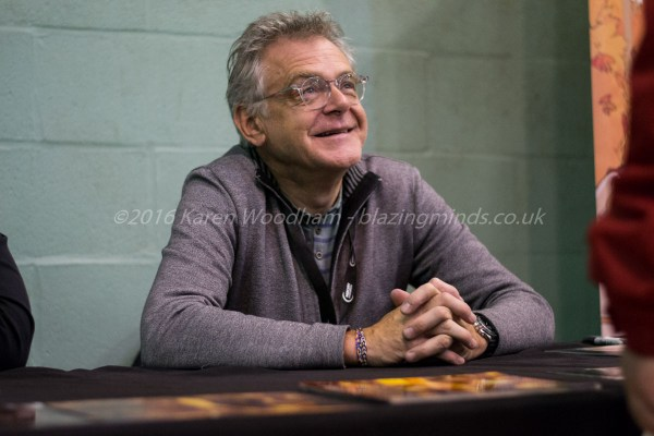 Kevin McNally chats with fans at Wales Comic Con 2016 Part 2