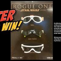RealD 3D - Rogue One 3D Glasses Giveaway