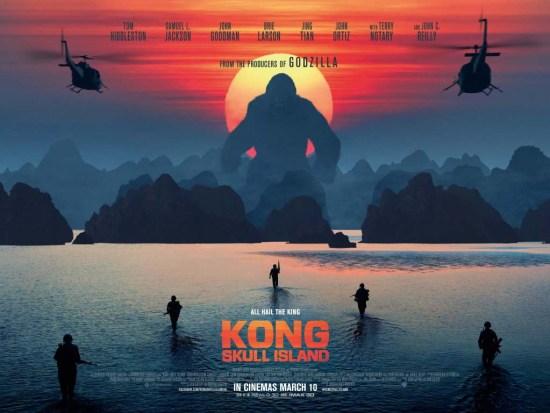 Kong Skull Island QUAD
