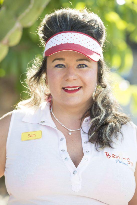 Shelley Longworth (Sam in Benidorm)