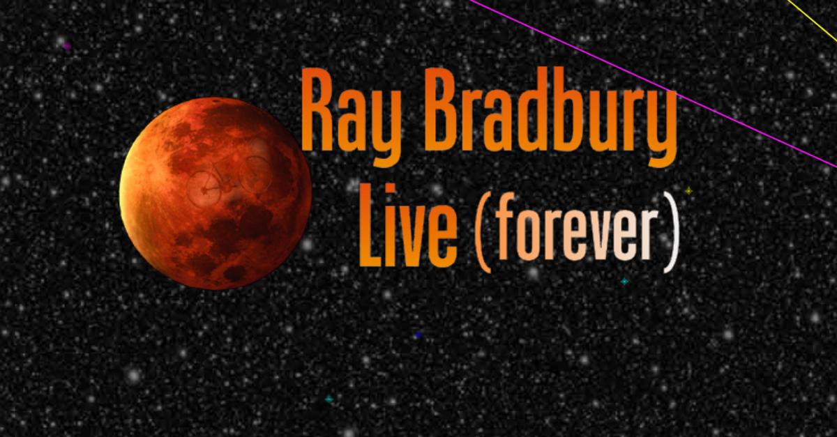 Jeff Farley Recreates Ray Bradbury for Bill Oberst Jr.'s 'Ray Bradbury Live (forever)'