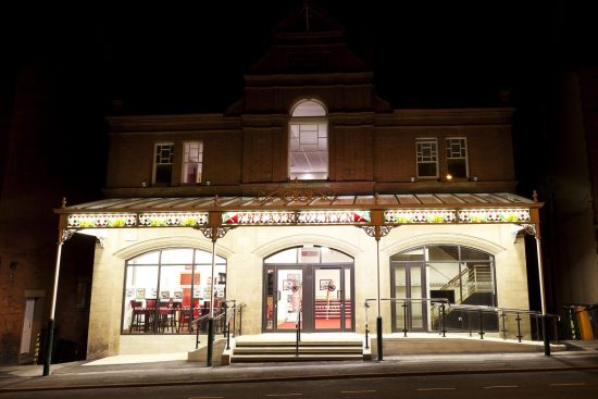 Theatr Colwyn Front View Night time