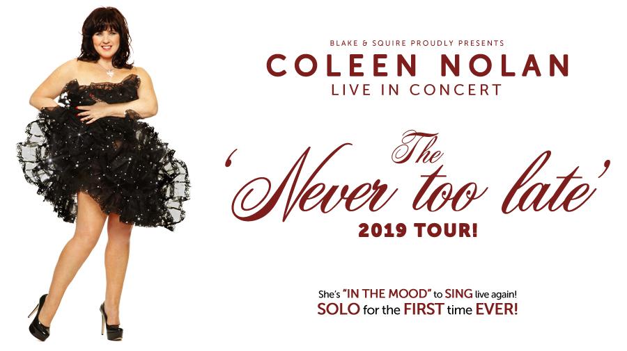 Coleen Nolan 'Now Or Never' 2019 – POSTPONED