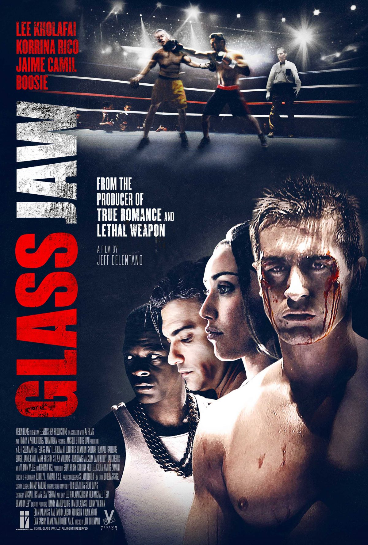 Review of the boxing drama Glass Jaw