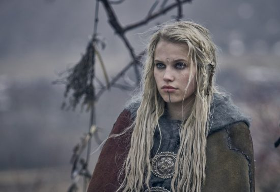 The Last Kingdom Series 3 Episode 7 Thea Sofie Loch Naess as Skade Skade reveals Bloodhairs destiny © Carnival Film & Television Limited 2018 Adrienn Szabo