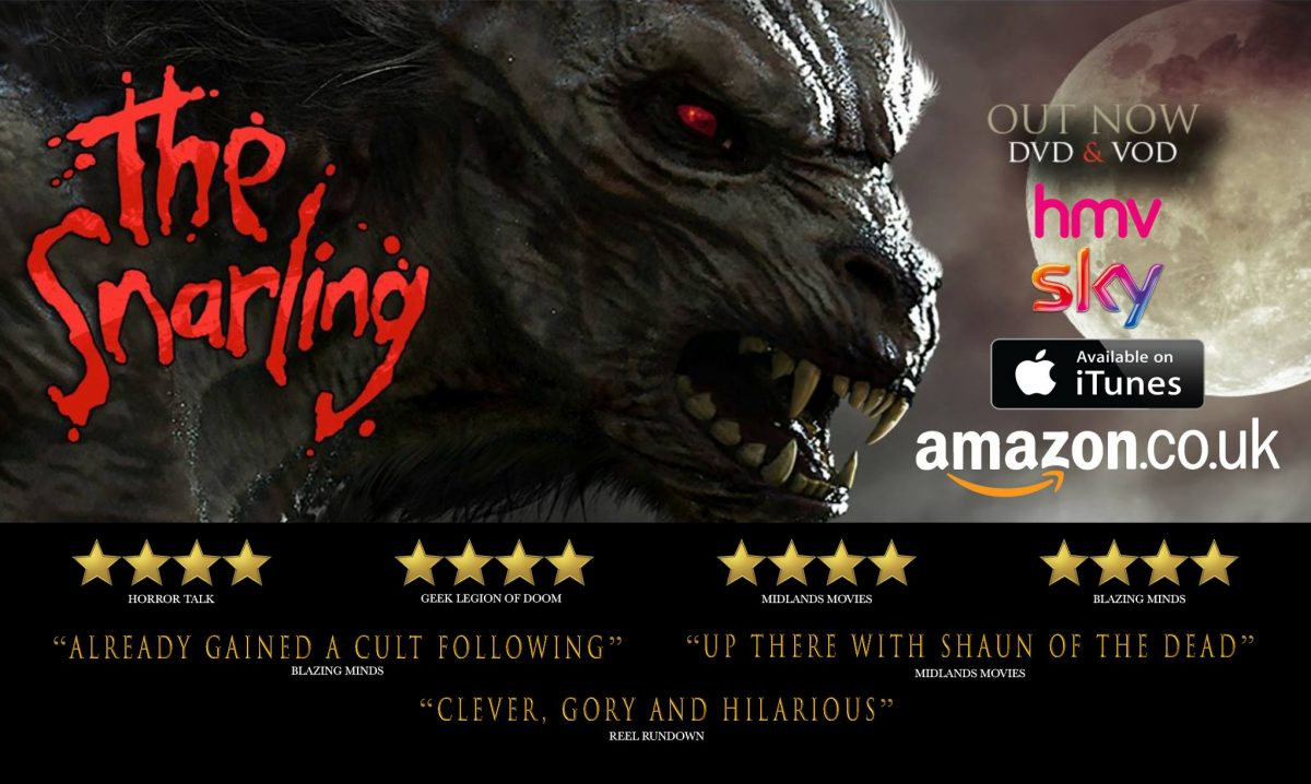 The Snarling – Don't Cry Wolf this Halloween! DVD Review