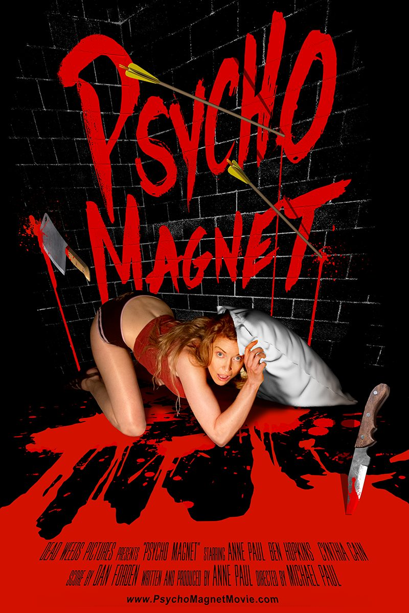 Horror-on-Sea interview with Psycho Magnet writer and leading actress Anne Paul