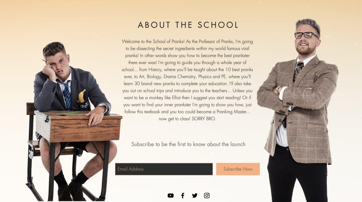 WIN Ben Phillips' second book School of Pranks