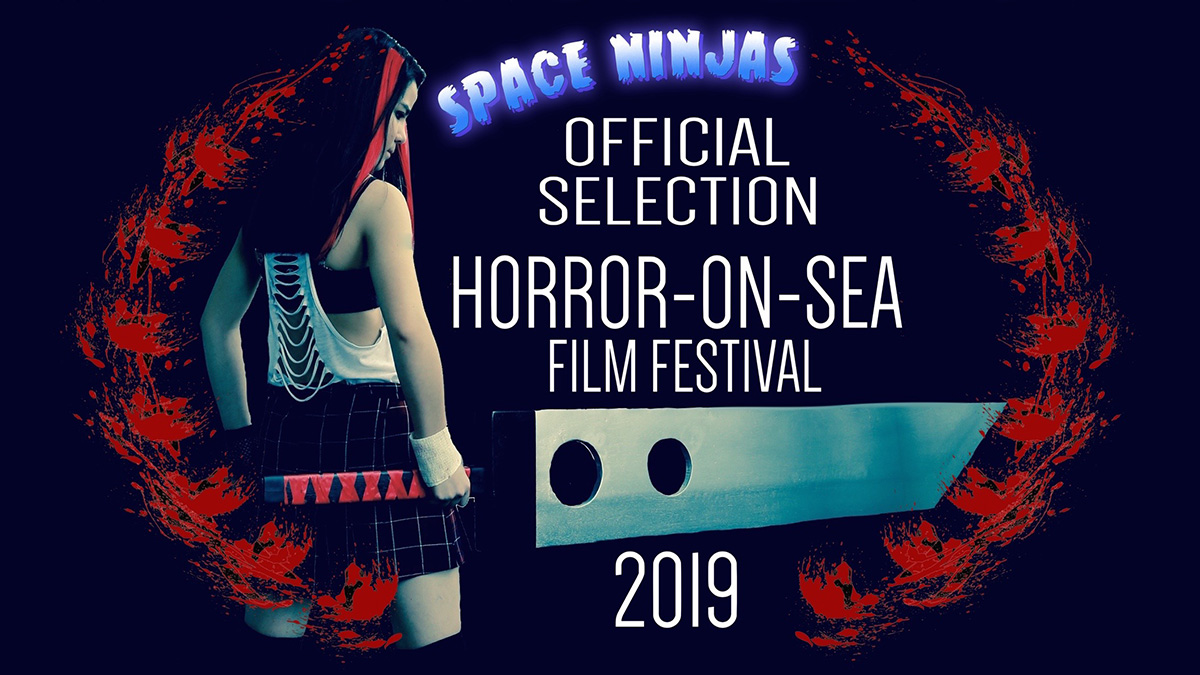 Horror-on-Sea interview with Space Ninjas actress Yi Jane