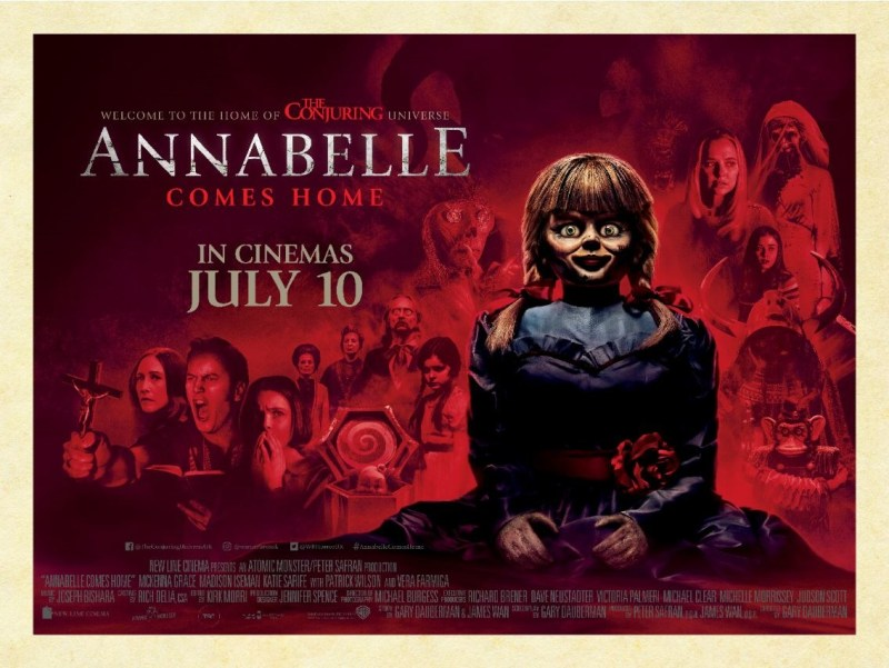 Win an Annabelle Comes Home Prize Bundle with Warner Bros. Pictures and Blazing Minds