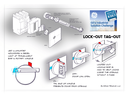 small resolution of lockout tagout circuit breaker for ge industrial safety