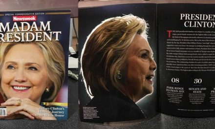"LEAKED: NEWSWEEK'S RECALLED HILLARY CLINTON ""MADAM PRESIDENT"" ISSUE"
