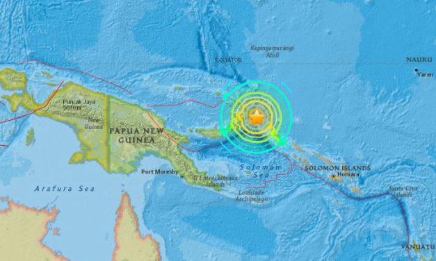 Powerful Magnitude 7.9 Earthquake Followed By Swarm Of M6.0 Quakes Strike Papua New Guinea
