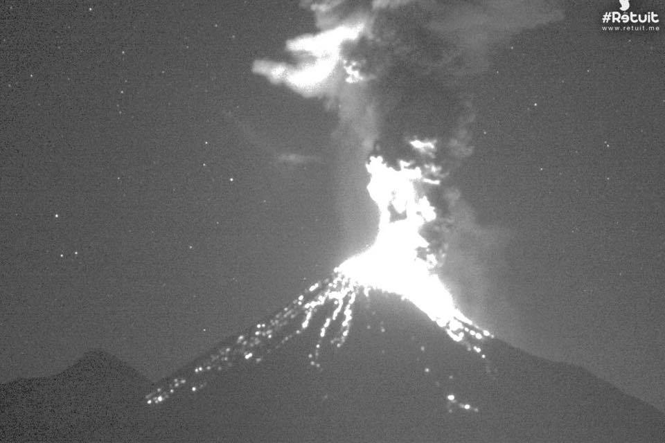 Strongest Eruption In Last 16 Months Of Colima Volcano